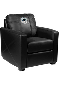 Carolina Panthers Faux Leather Club Desk Chair