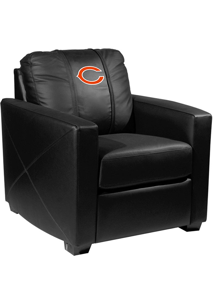 Chicago Bears Faux Leather Club Desk Chair - Image 1