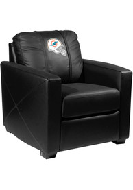 Miami Dolphins Faux Leather Club Desk Chair