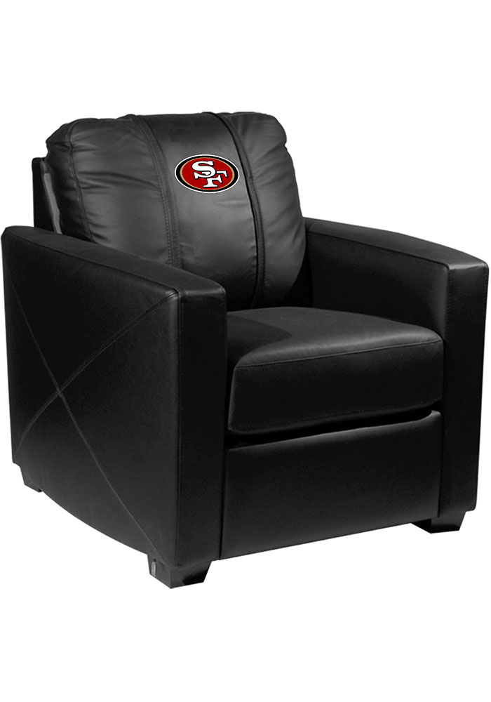San Francisco 49ers Faux Leather Club Desk Chair - Image 1
