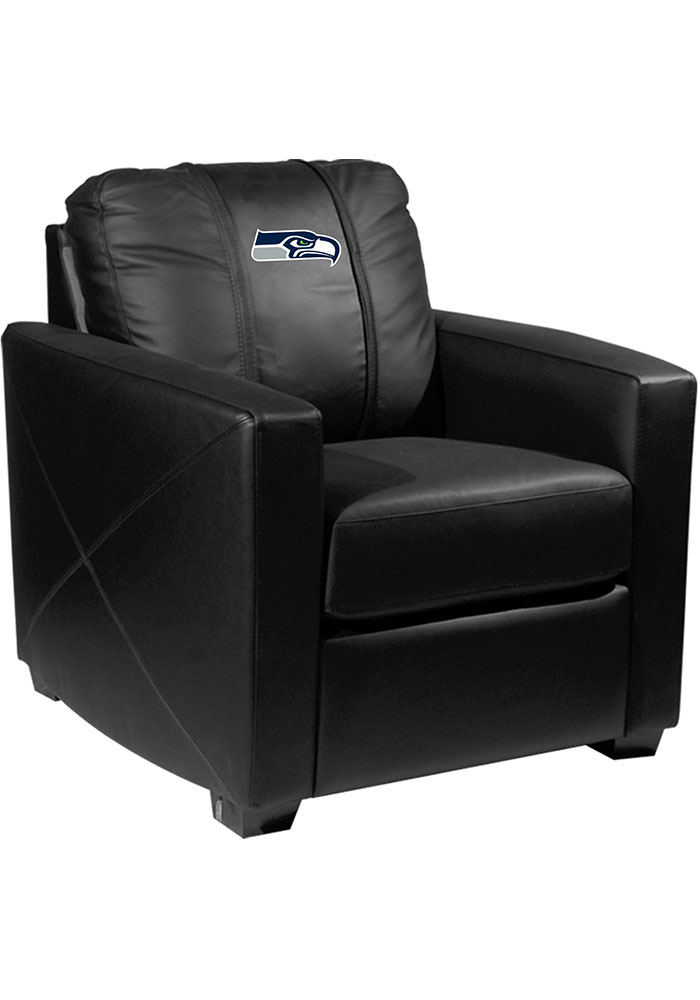Seattle Seahawks Faux Leather Club Desk Chair - Image 1
