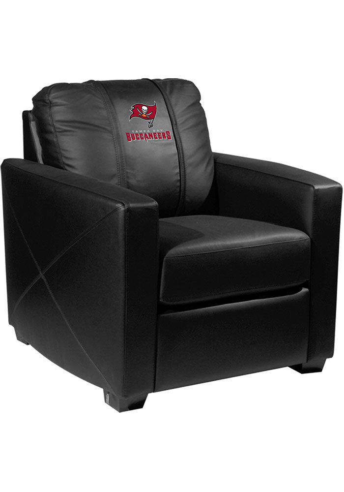 Tampa Bay Buccaneers Faux Leather Club Desk Chair - Image 1