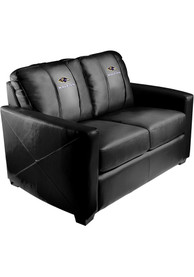 Baltimore Ravens Faux Leather Love Seat