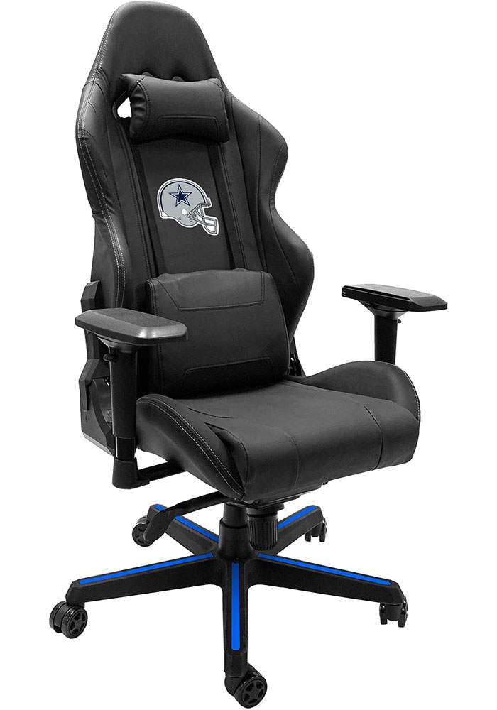 Dallas Cowboys Xpression Blue Gaming Chair - Image 1