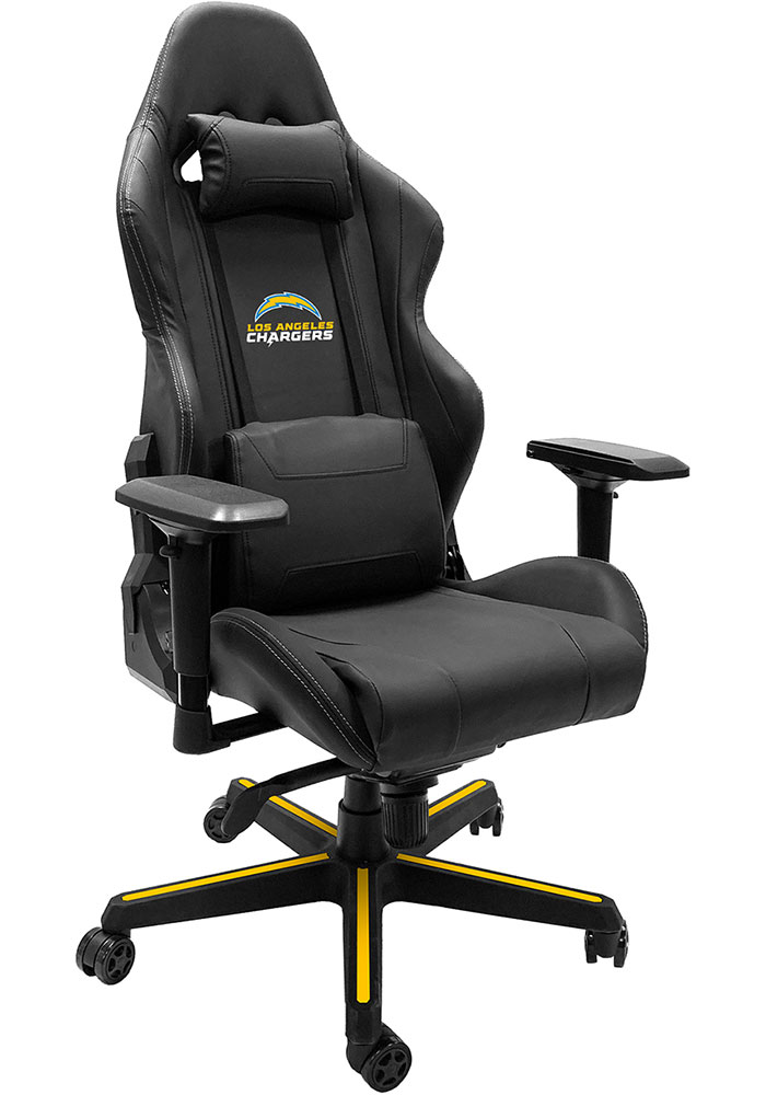 Los Angeles Chargers Xpression Blue Gaming Chair - Image 1