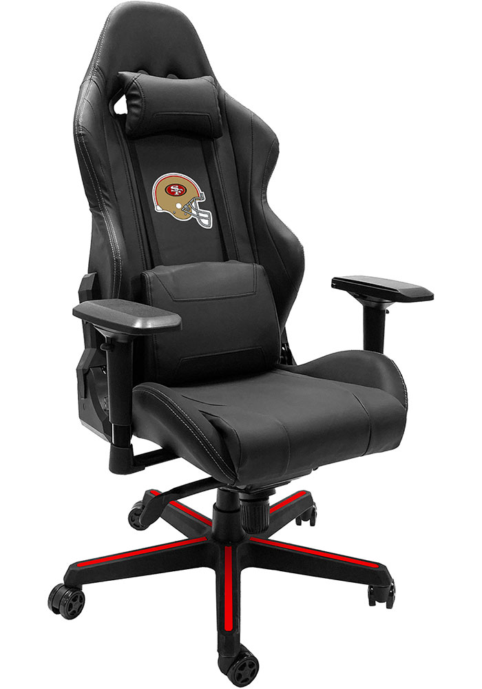 San Francisco 49ers Xpression Red Gaming Chair - Image 1