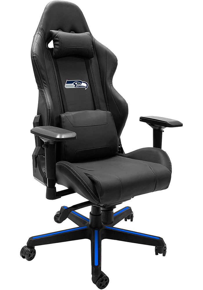 Seattle Seahawks Xpression Blue Gaming Chair - Image 1