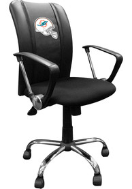 Miami Dolphins Curve Desk Chair