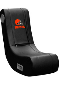 Cleveland Browns Rocker Brown Gaming Chair