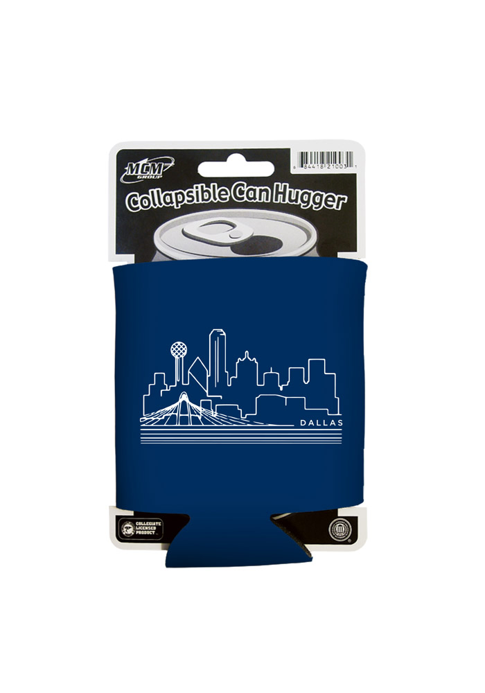 Dallas Ft Worth Skyline Koozie - Image 1