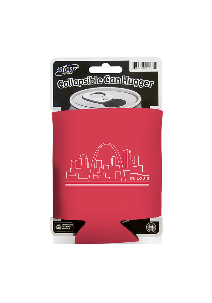 St Louis Skyline Red Coolie - Image 1