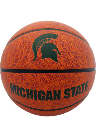 Michigan State Spartans Team Logo Composite Basketball