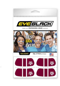 Texas A&M Aggies Eyeblack Tattoo