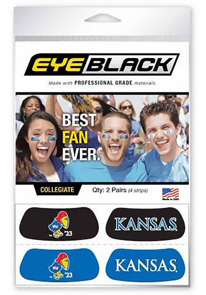 Kansas Jayhawks Eye Black Tattoo - Image 1