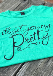 Wizard of Oz Green Ill Get You My Pretty Short Sleeve T Shirt