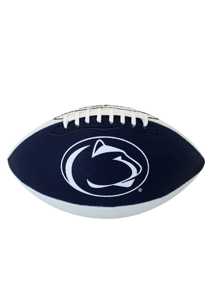 Penn State Nittany Lions Grip Tech Rubber Football - Image 1