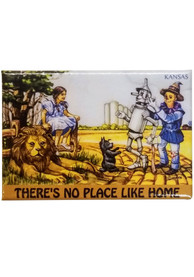Wizard of Oz No Place Like Home Magnet Magnet
