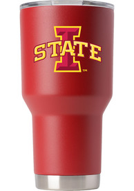 Iowa State Cyclones Team Logo 30oz Stainless Steel Tumbler - Red