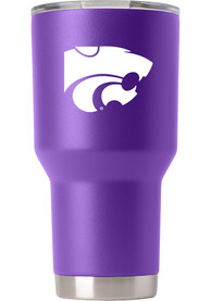 K-State Wildcats Team Logo 30oz Stainless Steel Tumbler - Purple