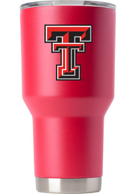 Texas Tech Red Raiders Team Logo 30oz Stainless Steel Tumbler - Red