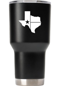 Texas Lone Star State of Mind 30oz Stainless Steel Tumbler - Black