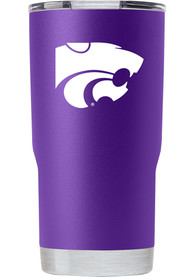 K-State Wildcats Team Logo 20oz Stainless Steel Tumbler - Purple