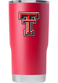 Texas Tech Red Raiders Team Logo 20oz Stainless Steel Tumbler - Red