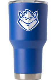 Saint Louis Billikens Team Logo 30oz Stainless Steel Tumbler - Blue
