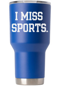 RALLY Quarantine 30 oz Stainless Steel Tumbler - Blue