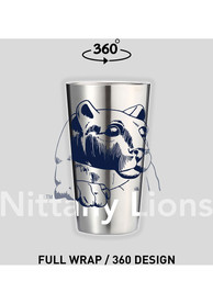 Penn State Nittany Lions 16 oz Stainless Steel Pint Glass