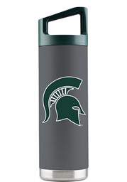 Michigan State Spartans 16 oz Bottle Stainless Steel Tumbler - Grey