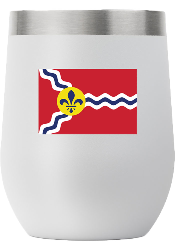 St Louis 12 oz Stemless Stainless Steel Tumbler - Grey - Image 1