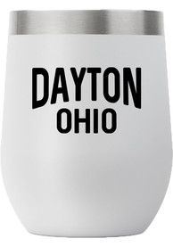 Ohio City 12oz Stemless Stainless Steel Tumbler - Grey