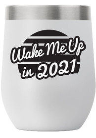 RALLY 12oz Stemless Wine Stainless Steel Tumbler - Grey