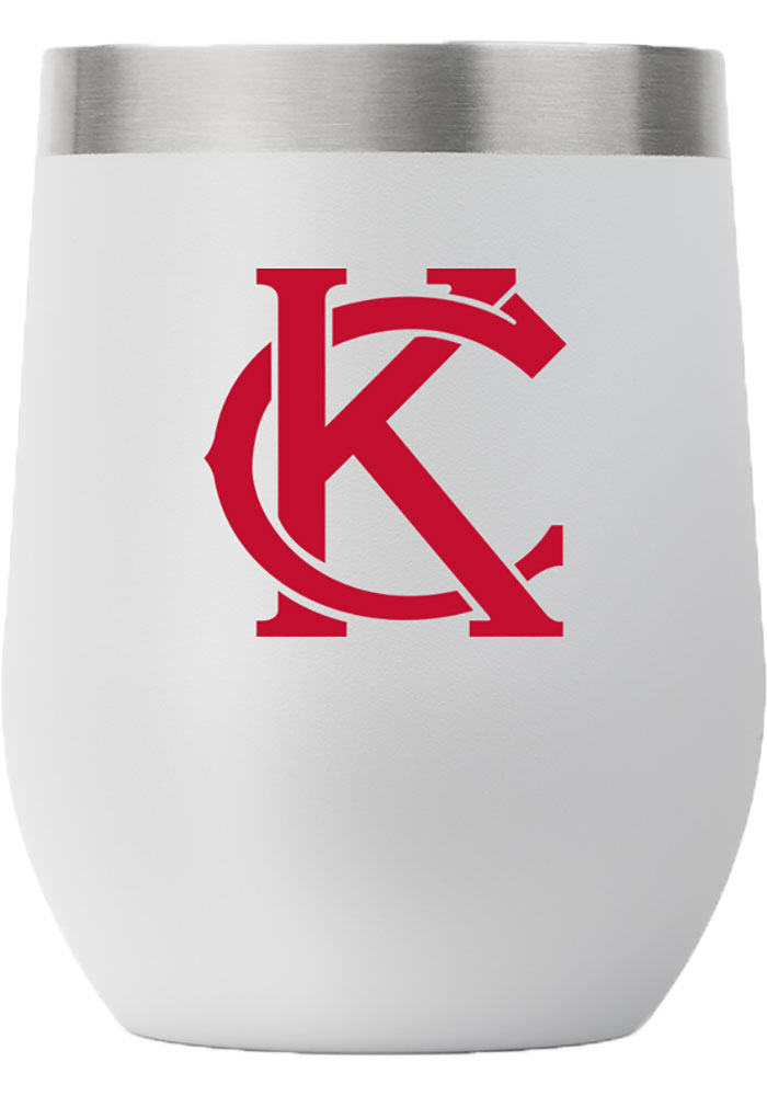 Kansas City City 12oz Stemless Stainless Steel Tumbler - Grey - Image 1
