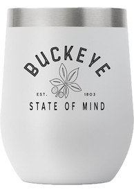 Ohio State 12oz Stemless Stainless Steel Tumbler - Grey