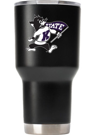 K-State Wildcats Team logo 30oz Stainless Steel Tumbler - Black