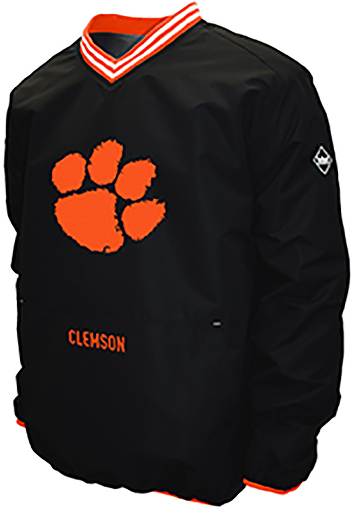 a108eb07872 Clemson Tigers Black Postgame Pullover