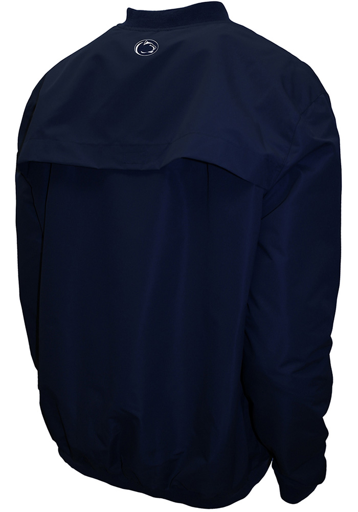 Penn State Nittany Lions Mens Navy Blue Members Pullover Jackets - Image 2