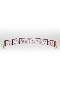Texas A&M Aggies Rope Desk and Office Block Set