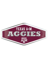 Texas A&M Aggies Embossed Metal Sign