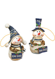 Penn State Nittany Lions Resin Snowman Ornament
