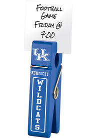 Kentucky Wildcats Large Wooden Clip Desk Accessory
