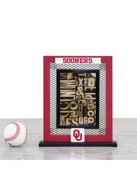 Oklahoma Sooners Wire Grid Frame Picture Frame