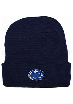 Penn State Nittany Lions Navy Blue Cuffed Newborn Knit Hat