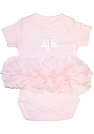 Texas A&M Aggies Baby Tutu One Piece - Pink