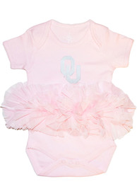 Oklahoma Sooners Baby Tutu One Piece - Pink