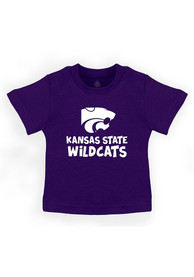 K-State Wildcats Infant Playful T-Shirt - Purple