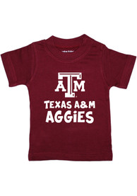 Texas A&M Aggies Infant Playful T-Shirt - Maroon