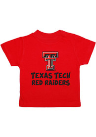 Texas Tech Red Raiders Infant Playful T-Shirt - Red